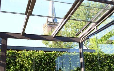 Maximale flexibiliteit met een tuinkamer met een schuifbaar dak van Ittalum
